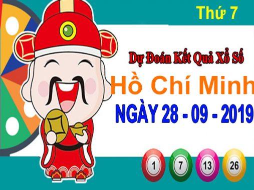 Dự đoán XSHCM ngày 28/9/2019 – Dự đoán xổ số Hồ Chí Minh thứ 7 hôm nay