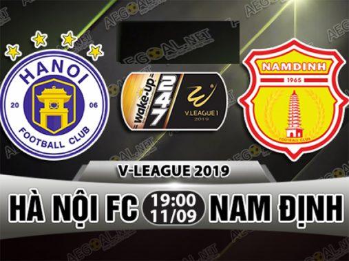 Nhận định Hà Nội FC vs Nam Định 19h00 ngày 11/9 : Hà Nội vượt trội