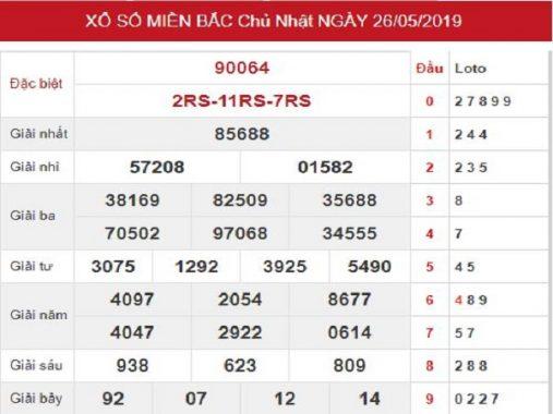 Dự đoán KQXSMB- xổ số miền bắc ngày 27/05 chuẩn xác