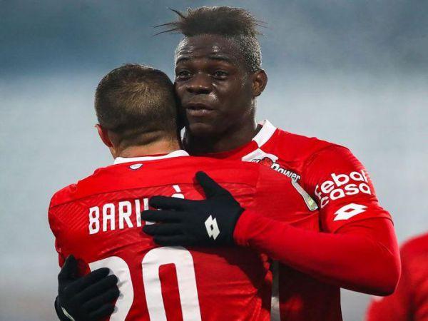 Tin bóng đá tối 31/12: Mario Balotelli chỉ cần 4 phút để ghi bàn