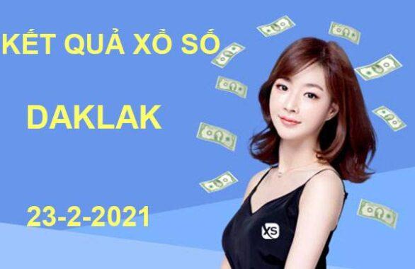 Dự đoán xổ số Daklak thứ 3 ngày 23/2/2021