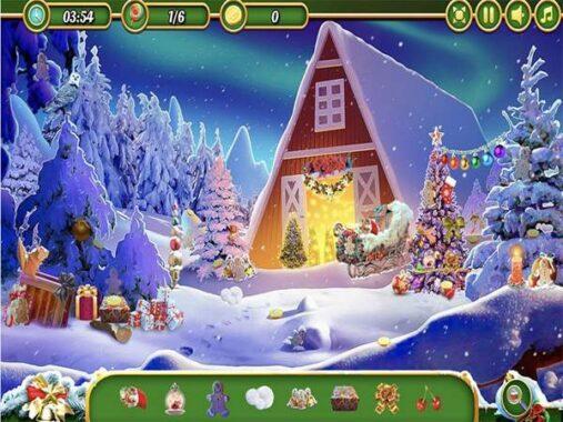 Game tìm đồ vật - Giáng sinh kỳ thú