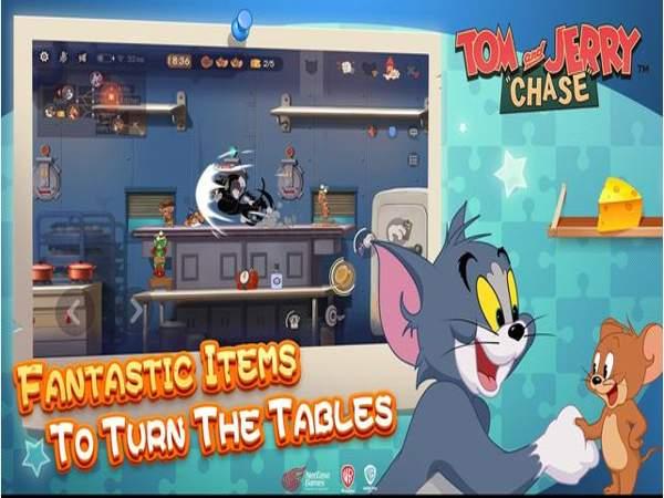 Game mèo Tom và Jerry chase
