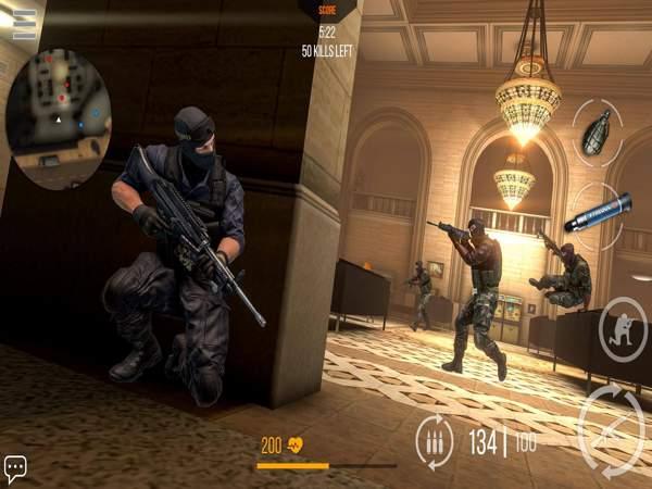 Game bắn súng sinh tồn offline cho di động
