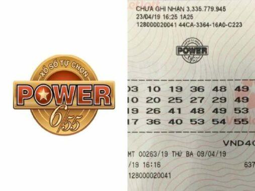 Luật chơi Vé Số Power 6/55 – Cơ cấu giải thưởng vô cùng hấp dẫn